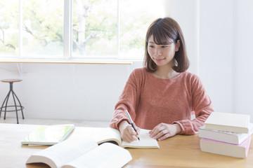 勉強 女性