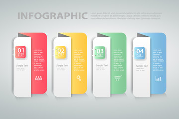 Design template Infographic. can be used for workflow, layout, diagram, process