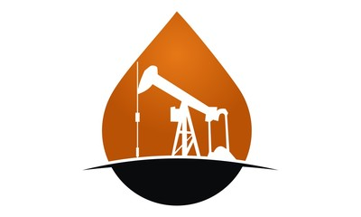 Oil Mining Logo