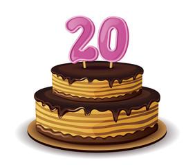 Anniversary Cake Number 20