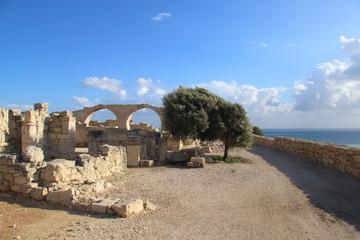 Antike Bögen in Kourion bei Limassol, Zypern