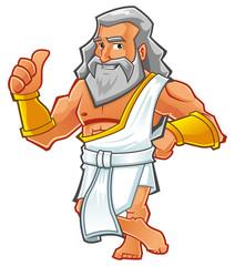 Illustration of a Strongest God