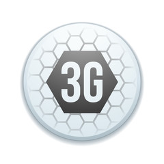 3G technology button sign