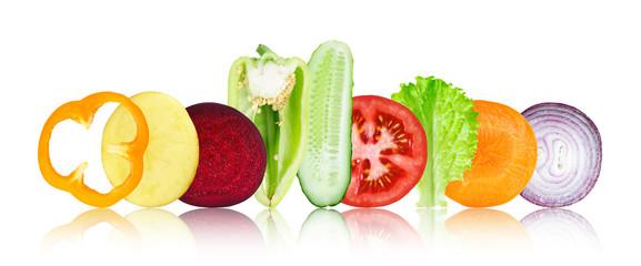 Keuken foto achterwand Verse groenten Mixed vegetables