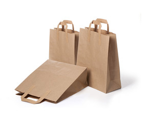 disposable paper bags