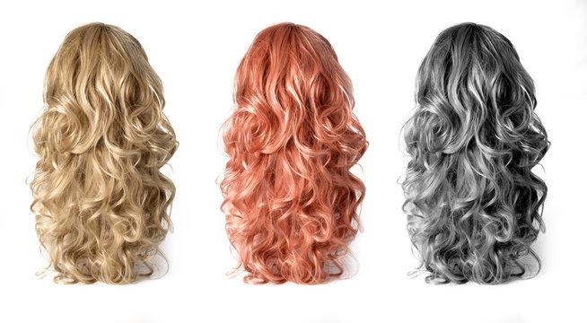 Wig of long  hair