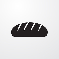 Bread icon for web and mobile.