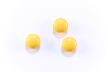 yellow pills