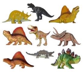 Dino prehistoric animals painting