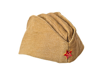 Soviet Army soldiers forage-cap