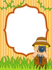 Safari Picture Frame