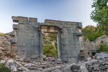 The ruins of Olympos. Turkey.
