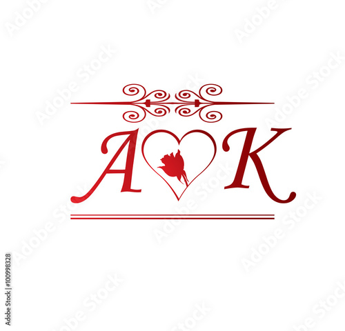 A Love S Alphabet Wallpaper In Heart  New Alphabet Foto