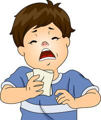 Sneezing Boy