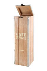 Box for storing wine. Design