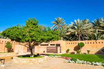 Garden at Al Ain Palace Museum - UAE