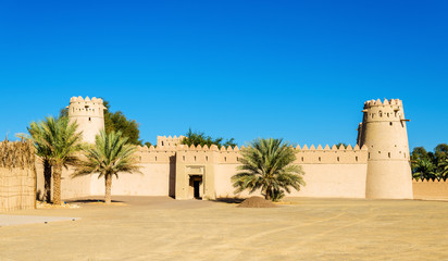 View of Al Jahili Fort in Al Ain, UAE