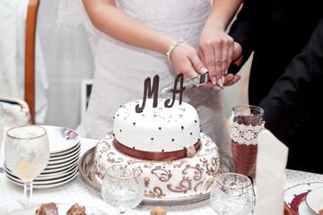 The two-storey wedding cake