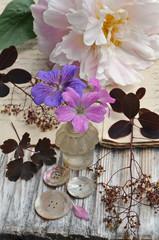 Wall Mural - Vintage flowers
