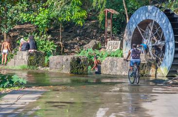 moulin à eau, Tour des Roches, Savannah, Réunion