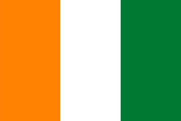 Standard Proportions for Ivory Coast Flag