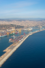 The Zona Franca Port is located in the south of the City. It is the industrial harbor of the City. This industrial area is one of the most important commercial regions in Catalonia