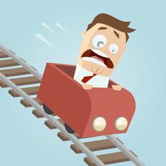achterbahn gefahr angst panik