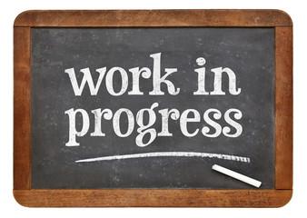 Risultati immagini per work in progress