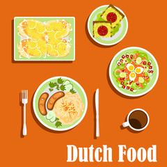 Dutch cuisine traditional dishes and snacks