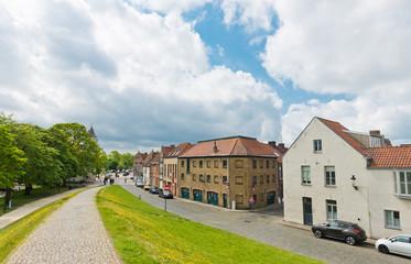 view of Bruges (Brugge), Belgium