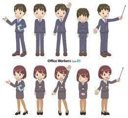 Office Workers type01