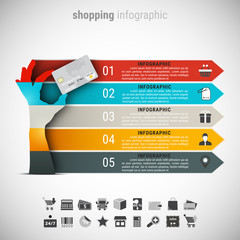 Creative Shopping Infographic