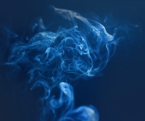 Tender abstraction with smoke