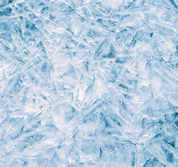 Close-up of ice surface, abstract background.