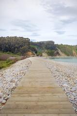 Gateway to the secret beach snack bar - vertical