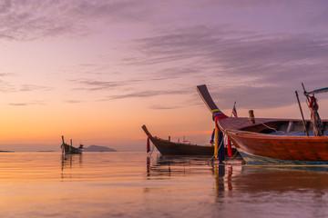 Beautiful sunrise in Rawai Phuket island Thailand