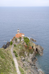 Lighthouse at Cudillero - Vertical