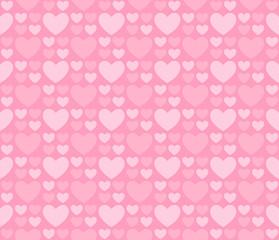 light seamless patterns of hearts