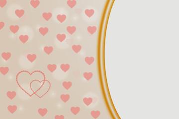 Фон текстурная рамка для свадьбы и признания любви и дня рождения.
