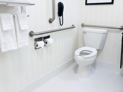 Handicapped Access Bathroom