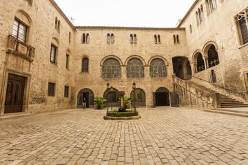 ancient, architecture, art, barcelona, barri, barri gothic, blue, bridge, building, catalan, catalonia, catalonian, catalunya, cathedral, chapel, church,