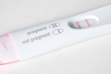 Pregnancy Test with Pregnant Results