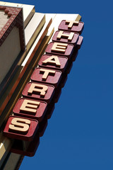 Movie Theatres Sign Picture