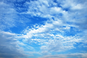 Blue-sky and white cloud is so beautiful