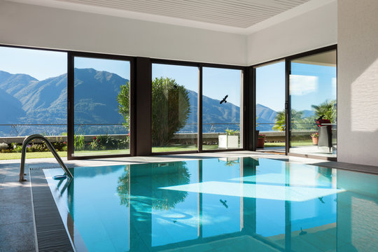 House, Indoor swimming pool