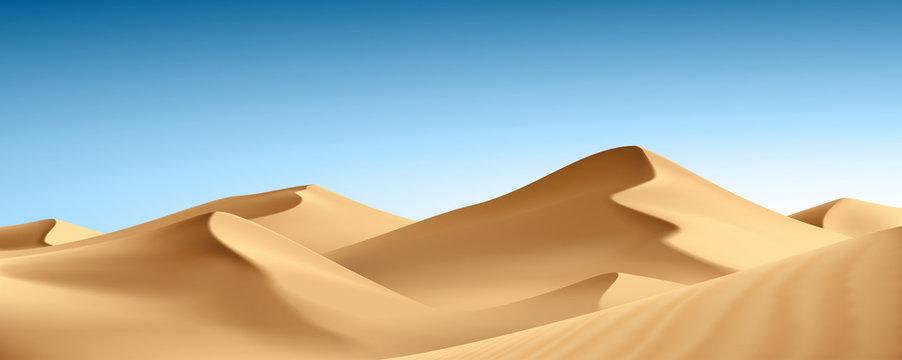 Paysage : désert vectoriel 1
