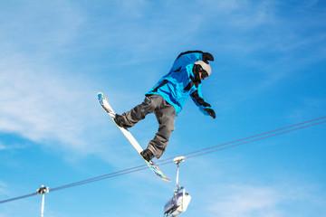 Fototapete - jumping