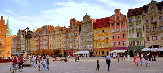 Breslau - farbenprächtiges Gebäude am Marktplatz