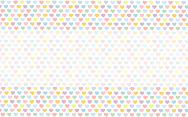 Heart Pastel Background