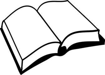 картинка книга раскрытая